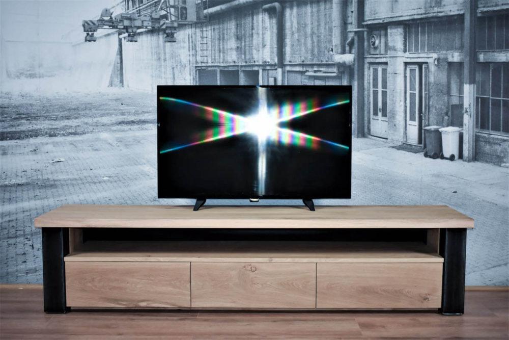 TV meubel eiken industrieel | Chamonix
