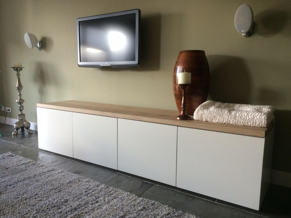 Eiken Mdf Combi Tv Meubel Fontaine