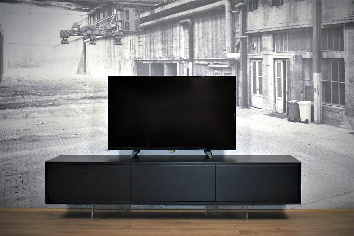 Kast Onder Tv.Zwevend Tv Meubel Eiken Stel Zelf Samen Gewoon Sfeervol
