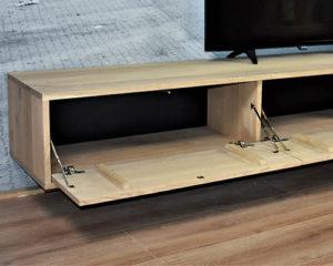 Vallende drukklep Zwevend tv meubel