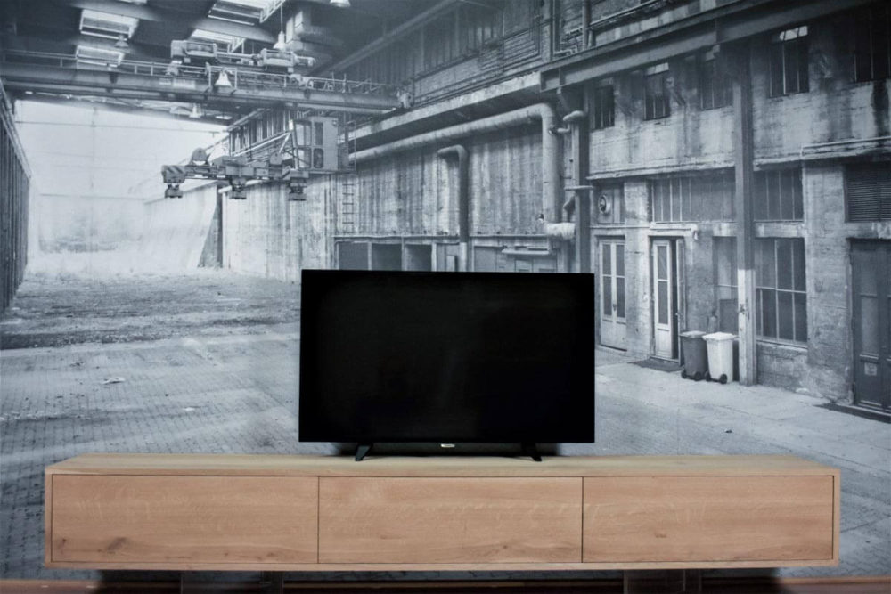 TV Meubel eiken - Hangend / Zwevend