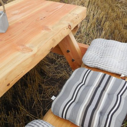 Lariks Douglas boomstam picknicktafel | Oregon