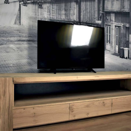 Massief eiken TV Meubel Camon (1)