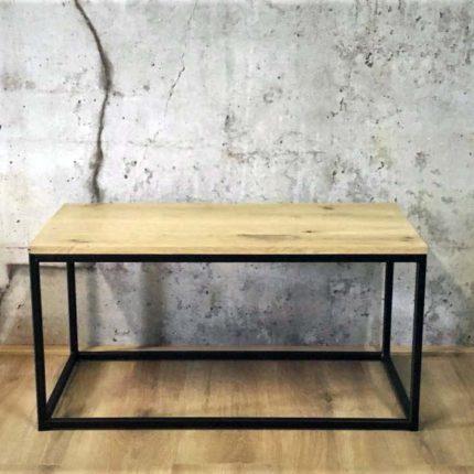 Rechthoekige salontafel van eiken | Belvès