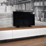 Zwevend TV Meubel eiken in twee kleuren