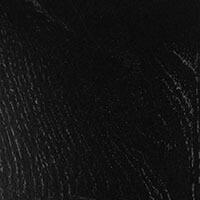 Dekkend zwart (houtnerf zichtbaar)