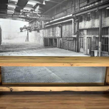 Eetkamertafel van Oud Eikenhout