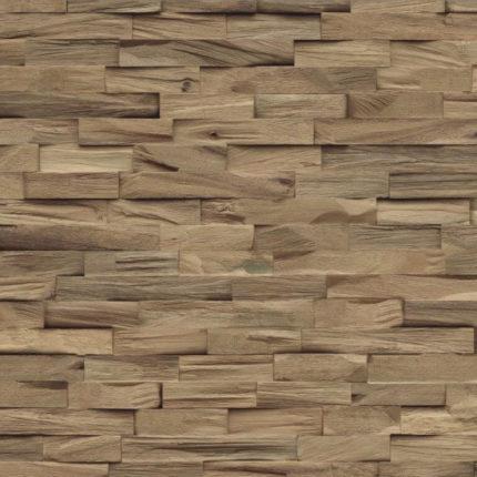 3d wandpanelen van Walnoot hout