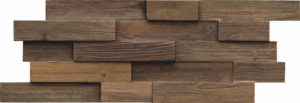 Wandpaneel van hardhout