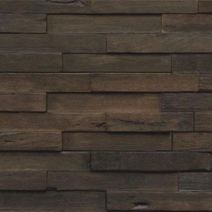 Chocolade bruin houten wandpanelen