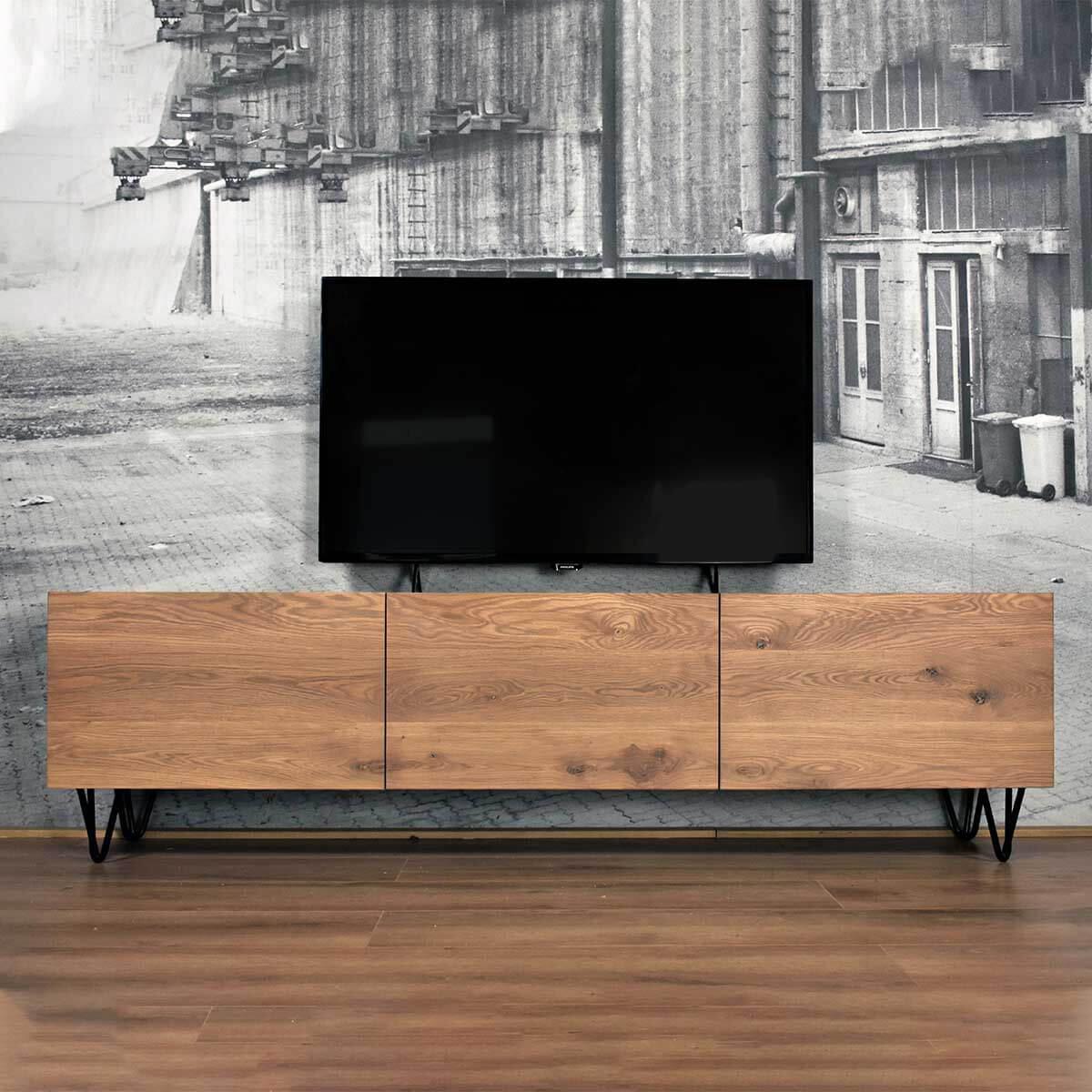 Tv Meubel Vintage.Vintage Tv Meubel Van Eiken Stel Zelf Samen Gewoonsfeervol Nl