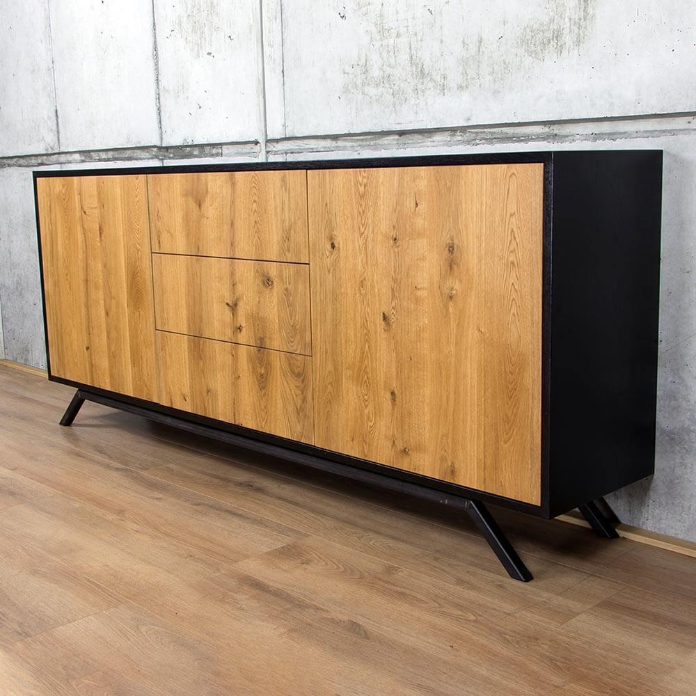 Eiken Dressoir Retro - Modern Design