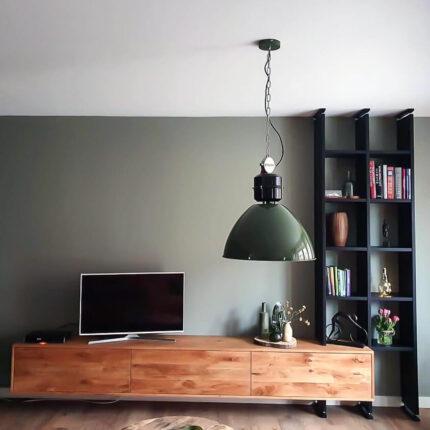 Zwevend TV meubel met boekenkast | Cinema