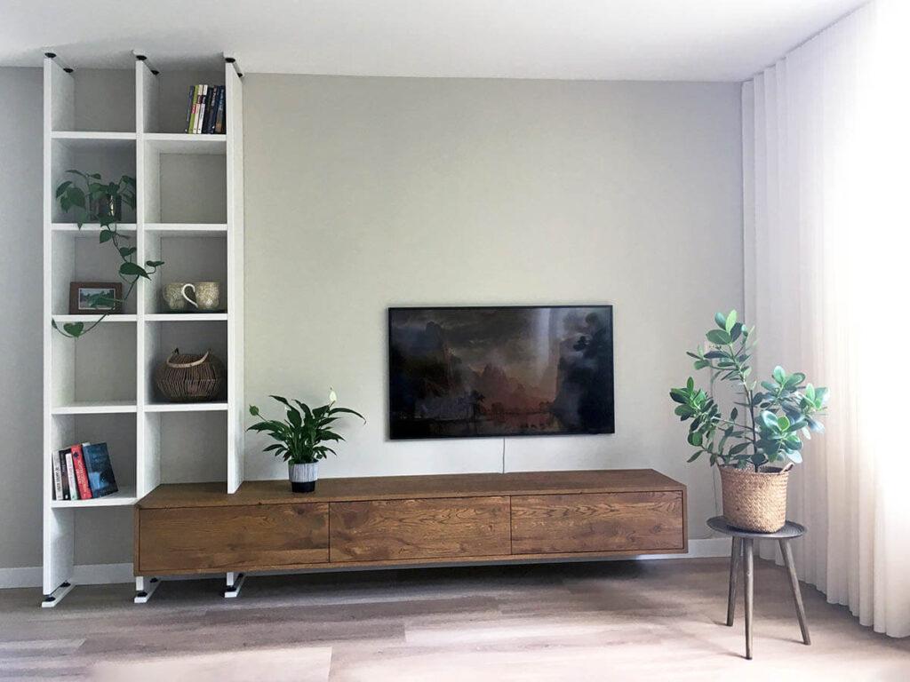 tv wandmeubels van hout